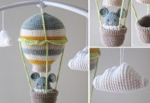 Crochet Hot Air Balloon - baby mobile Free Pattern
