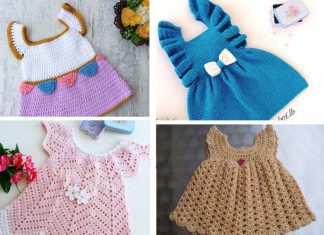 Cute Baby Girl Dress Free Crochet Pattern
