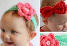 Rosey's Headband Crochet Free Pattern