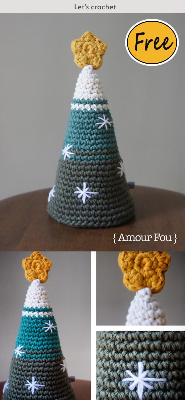 Crochet Twinkle Christmas Tree Free Pattern