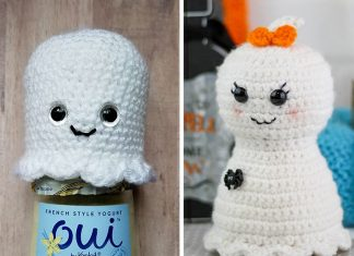 Pretty Little Ghost Halloween Free Crochet Pattern