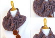 Plum Skies Cowl Free Crochet Pattern