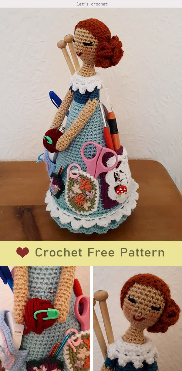 Weebee Sally Doll Crochet Free Pattern