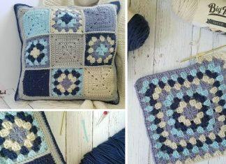 Lakeside Pillow Crochet Free Pattern
