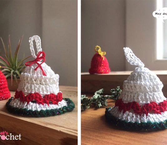 Crochet Christmas Bell Free Diagram