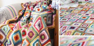 Colour Theory Blanket Crochet Free Pattern