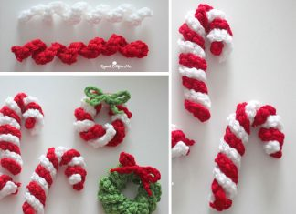Easy Crochet Candy Cane Free Pattern