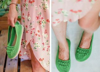 Slip-On Shoes Free Crochet Pattern