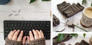 All My Exes Fingerless Mittens Crochet Free Pattern