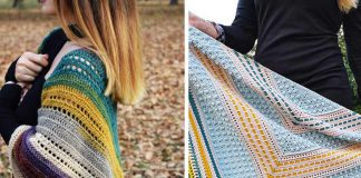 Triangle Shawl Crochet Free Pattern