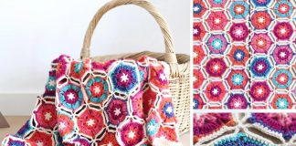 Borealis Blanket Free Crochet Pattern