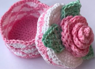 Romantic Rose Crochet Free Pattern