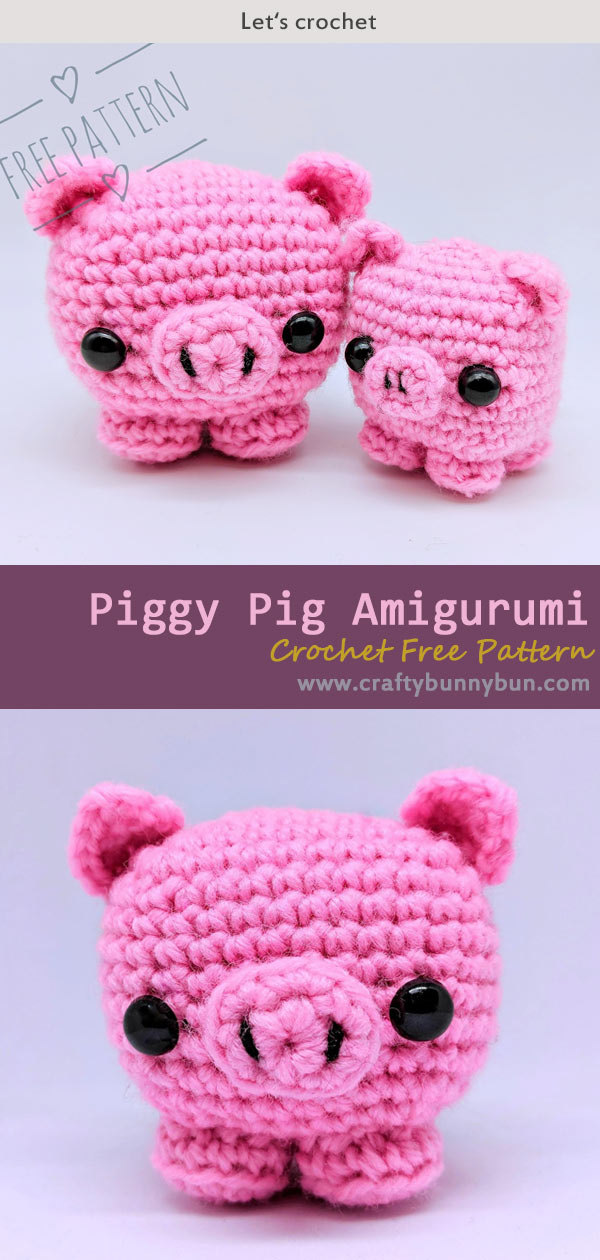 Crochet Pig Pattern - Lots Of Cute Ideas | The WHOot | 1260x600