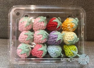Crochet Easy Strawberry Free Diagram