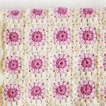 Bloom Afghan Throw Blanket Crochet Free Pattern