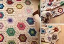 The Inspirational Hexies Blanket Crochet Free Pattern