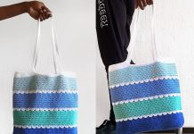 Pool Tote Bag Free Crochet Pattern