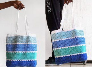 Pool Tote Bag Free Crochet Pattern