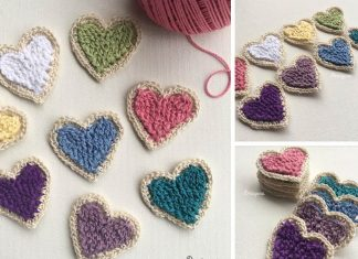 Charming Heart Crochet Free Pattern