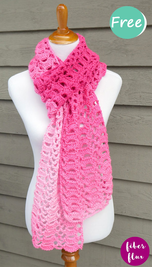 Heart You Scarf, Free Crochet Pattern + Video