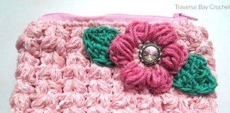 Flower Wallet Free Crochet Pattern