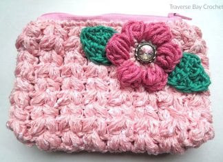 Flower Wallet Free Crochet Pattern