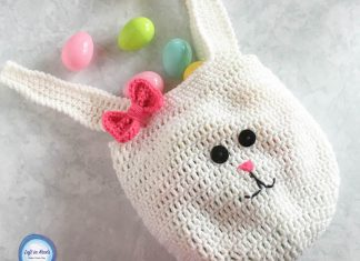 Bunny Bag Crochet Free Pattern