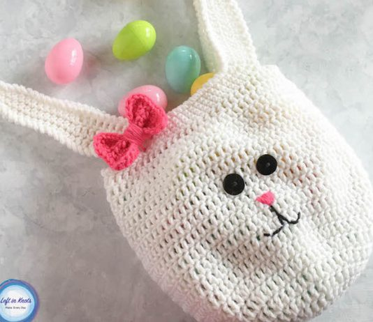 Bunny Bag Crochet Free Pattern