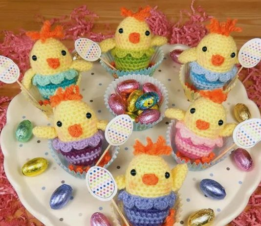 Little Chirpy Chick Crochet Free Pattern