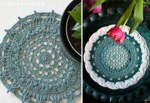 Aida Doily Mandala Crochet Free Pattern