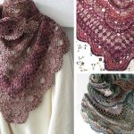 Virus Meets Granny Shawl Crochet Free Pattern