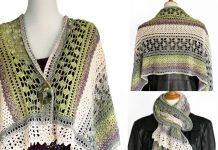Winter Indulgence Wrap Crochet Free Pattern