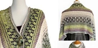 Winter Indulgence Wrap Crochet Free Pattern