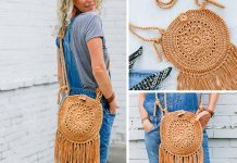 Street Fair Boho Purse Crochet Free Pattern