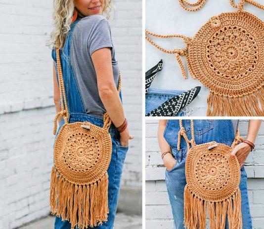 Street Fair Boho Purse Crochet Free Pattern