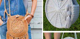 Round Purse Bag Crochet Free Pattern