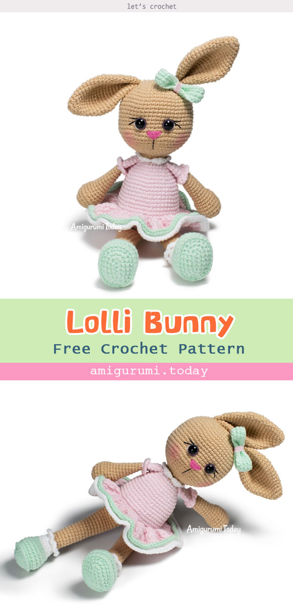 Amigurumi Lolli Bunny Free Crochet Pattern