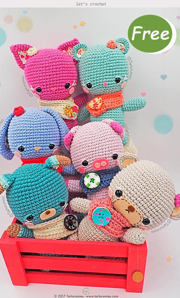 Amigurumis Little Kawaii Free Crochet Pattern
