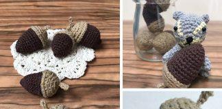 Acorn Amigurumi Crochet Free Diagram