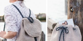 Florence Backpack Crochet Free Pattern