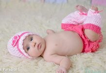 Sweetheart Baby Hat and Leg Warmers Crochet Free Pattern