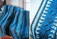Timeless Tunisian Blanket Crochet Free Pattern
