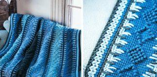 Timeless Tunisian Blanket Crochet Free Pattern
