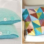 Ocean Front Bed Pillows Crochet Free Pattern