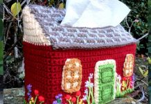 Cottage Cozy Tissue Boxes Crochet Free Pattern
