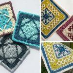 Winter Cottage Square Crochet Free Pattern