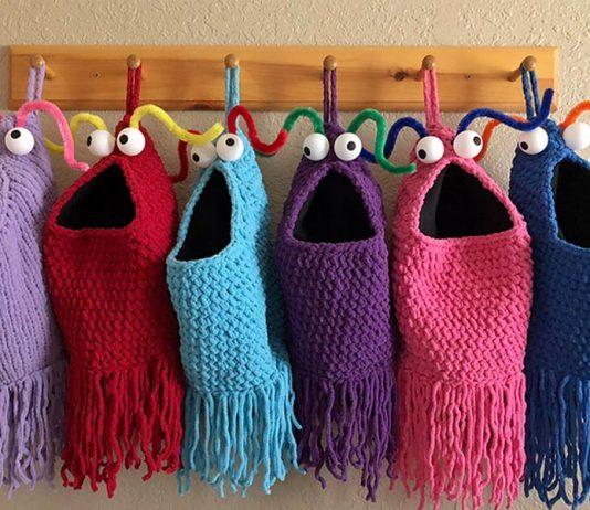 Yip Yips Storage Crochet Free Pattern