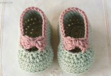 Little Lady Baby Booties Crochet Free Pattern