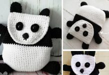 Panda Backpack Crochet Free Pattern