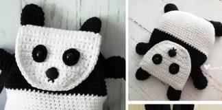 Panda Backpack Crochet Free Pattern